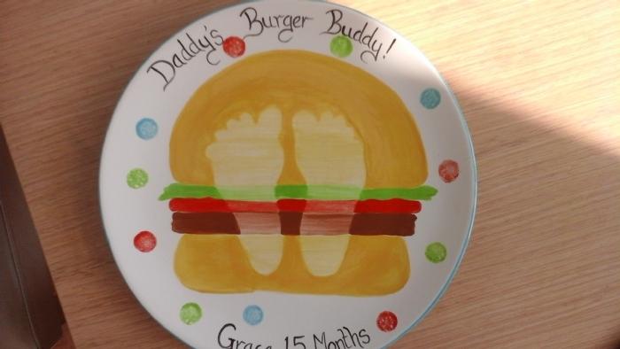 burger plate